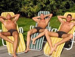 Outdoor Masturbation from Visconti Triplets