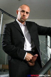 Vin Costes In Suit from Uk Naked Men