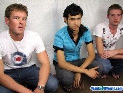 Lucas Ritchie Cody from Wank Off World
