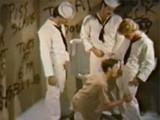 Vintage Sailor Toilet