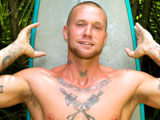 Tattooed Surf Stud Din