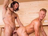 Johnny V and Woody Fox