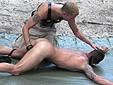 Twink Tied to Stakes
