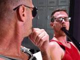 Backstage fan fisting