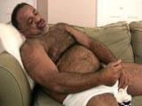 Stocky Bear Jerks His