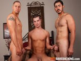 Chad, Trevor and Migue