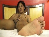 Asian Foot Fetish Solo