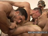 Muscle Soldiers Gay Or