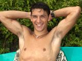 Naked Hawaiian Surfer